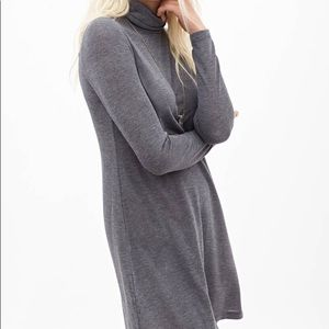 Forever 21, grey turtle neck dress!